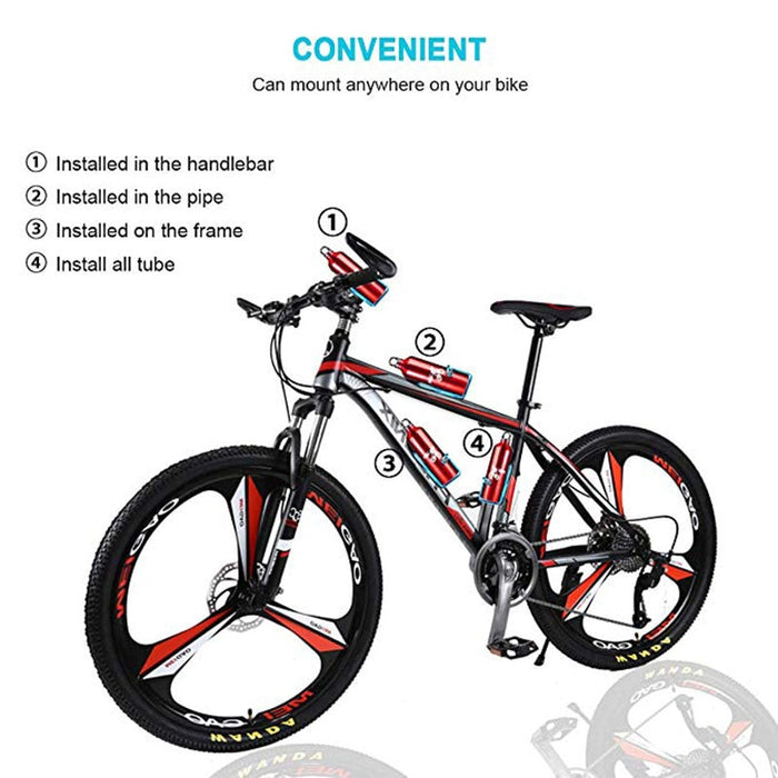 Aluminum Alloy Bicycle Cycling Bike Drink Water Bottle Rack Holder Cage for Mountain Folding Bike - Shoppersbase