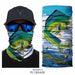 3D Fishing Buffs Bandana Fisher Neck Scarf Foulard Outdoors UV Headwears Seamless - Shoppersbase