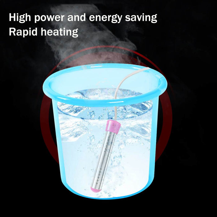 2000W Floating Electric Heater Boiler Water Heating Element Portable Immersion Suspension Bathroom Swimming Pool AU/EU/UK Plug - Shoppersbase