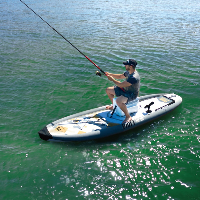 AQUA MARINA 330*97*15cm DRIFT inflatable sup board stand up paddle board, fishing SUP board surfing board with incubator  A01010 - Shoppersbase
