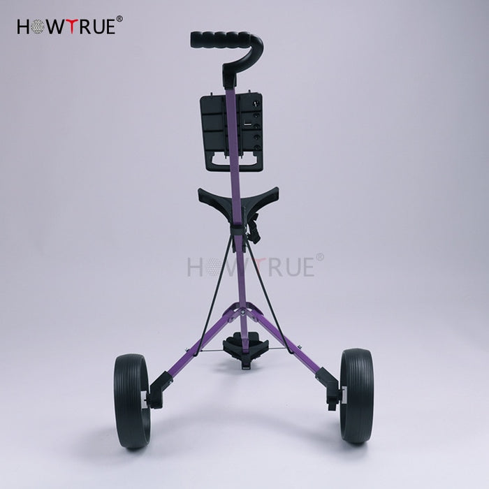 Aluminum alloy Golf Trolley Folding Golf cart - Shoppersbase