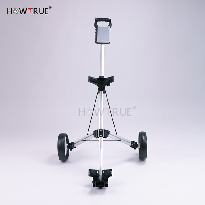 Golf ball trailer folding wheel ball bag - Shoppersbase