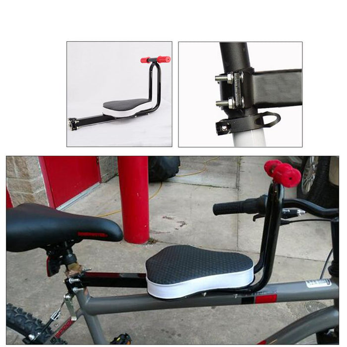 Detachable Child Bicycle Safe-T-Seat Front Seat Chair Carrier Outdoor Sport Protect Seat - Shoppersbase