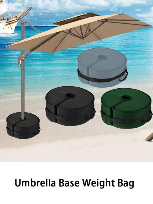 Beach Garden Umbrella Base Weights Bag Cloth Pouch Leg Weights For Pop Up Canopy Tent Parasol Consolidate The Outdoor Umbrella - Shoppersbase