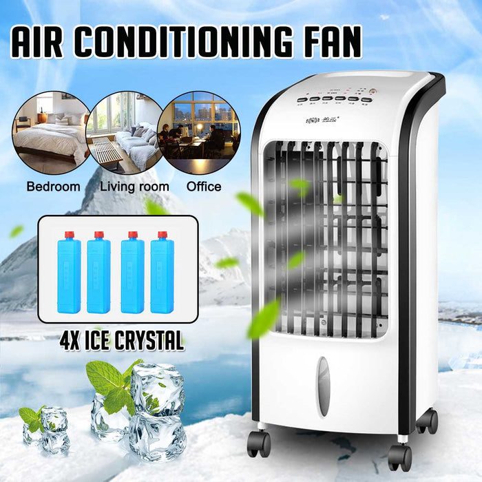 220V Mini Air Conditioner Cooling Fan Humidifier - Shoppersbase