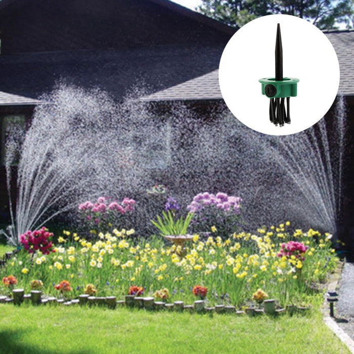 360 Degree Garden Automatic Sprinkler Lawn Gardening Irrigation Tool Adjustable - Shoppersbase