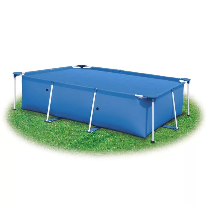 Rectangular Pool Cover 732 X 366 CM PE Blue Lightweight Pool Cover Heat-Retaining Solar Pool Film - Shoppersbase