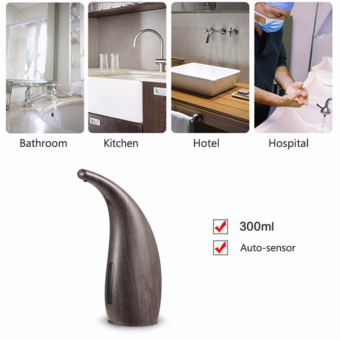 Touchless Automatic Sensor Liquid Soap Dispenser Motion For Home Kitchen 300ML - Shoppersbase