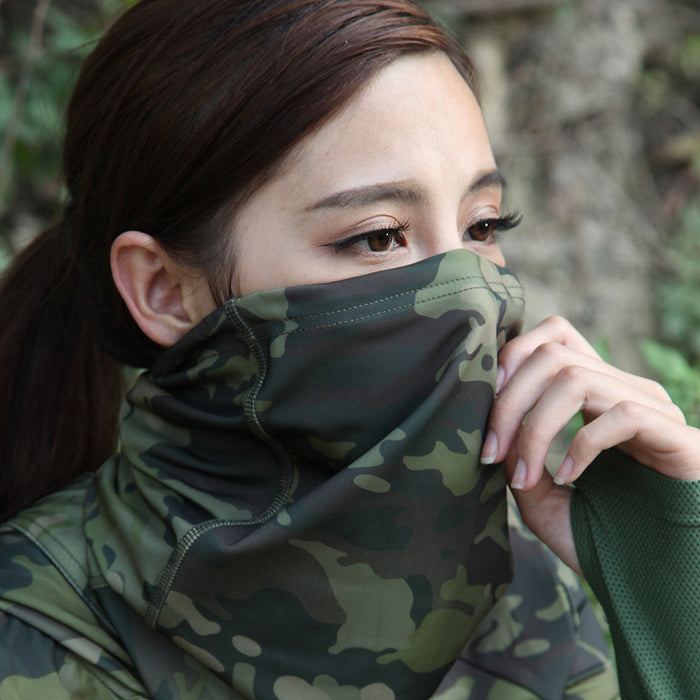 Multicam Camouflage Tactical Neck Gaiter - Shoppersbase