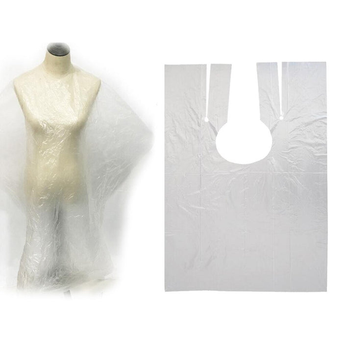 50pcs Disposable Hairdressing Capes - Shoppersbase