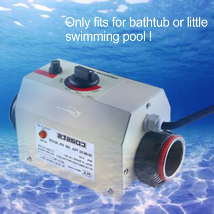 3KW 220V 50HZ Swimming Pool Heater & SPA Bathe Bath Hot Tub Thermostat Electric Water Heater - Shoppersbase