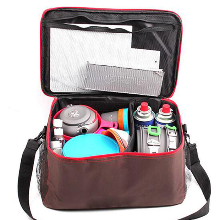Outdoor Camping Hiking Lunch Picnic Basket - Shoppersbase