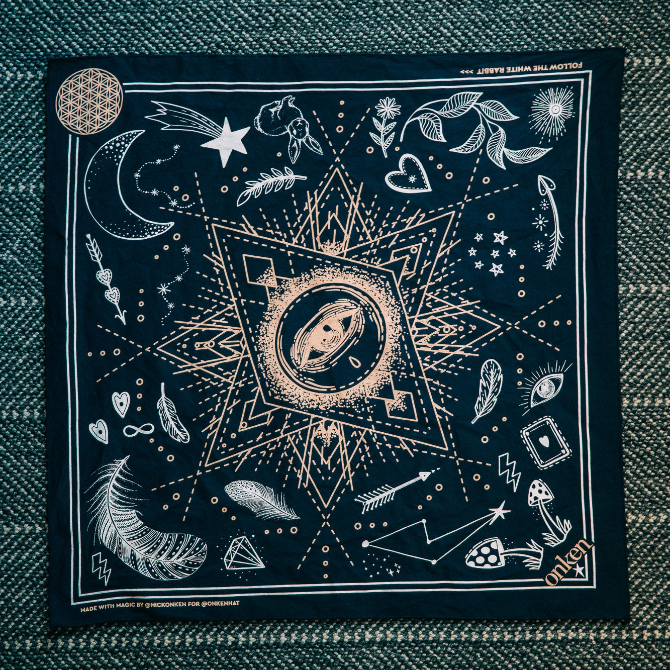 Creative Alchemy Bandana - NAVY