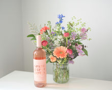 Load image into Gallery viewer, Mother's Day Wine & Blooms