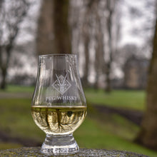 Load image into Gallery viewer, Peg Whisky Glencairn Glass