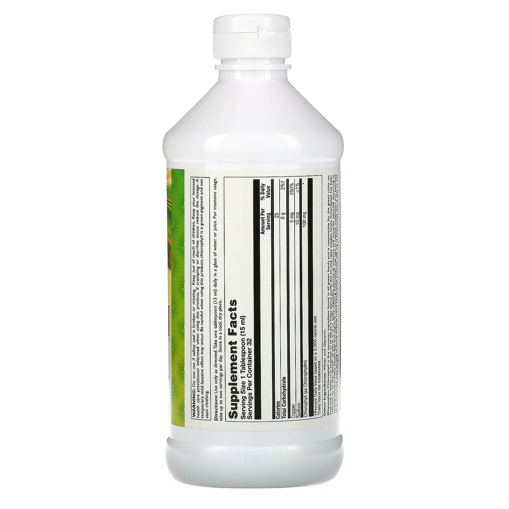 Sunny Green Liquid Chlorophyll unflavored 16 oz (unflavored)