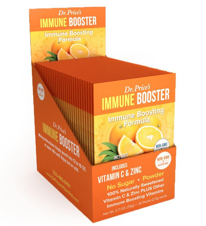 Buy Dr. Price's Immune Booster Powder, 30ct Box  Peter's Choice