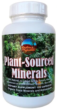Buy Plant-Sourced Trace Minerals 120 capsules Online  Peter's Choice