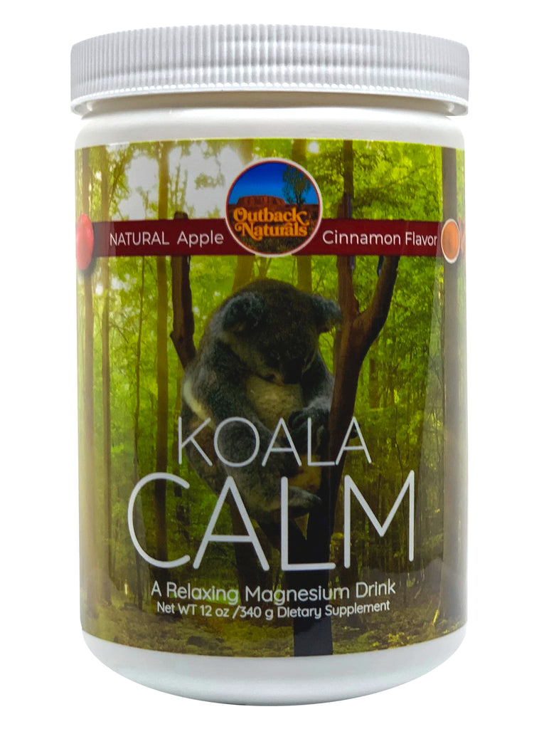 Koala Calm 400mg Magnesium Powder (Apple Cinnamon), 12 oz
