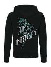 Time Vs. Intensity Zip Hood