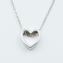 Load image into Gallery viewer, Hollow Heart Necklace