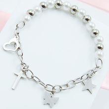 Load image into Gallery viewer, Bead & Charm Bracelet