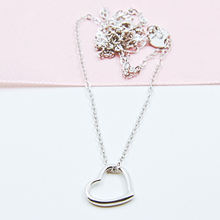 Load image into Gallery viewer, Plain Heart Necklace
