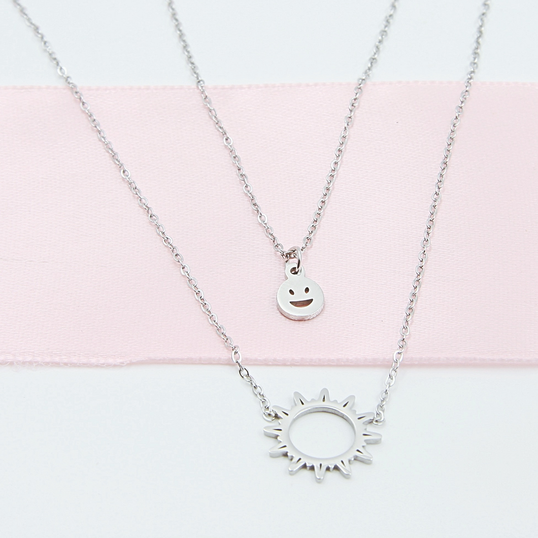 Sun & Smile Necklace