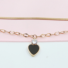 Load image into Gallery viewer, Double Layer Heart Bracelet