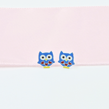 Load image into Gallery viewer, Owl & Heart Earrings