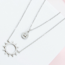 Load image into Gallery viewer, Sun & Smile Necklace