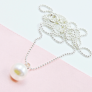 Pearl Earring & Necklace - Separate or set