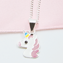 Load image into Gallery viewer, Unicorn Earring & Necklace Combo 1 - Separate or set