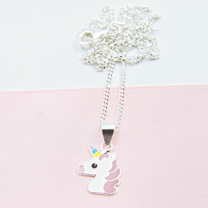 Unicorn Earring & Necklace Combo 1 - Separate or set