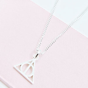 Deathly Hallows Earring & Necklace - Separate or set