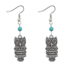 Load image into Gallery viewer, Cute Owl Earrings
