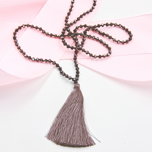 Tassel Beaded Necklace