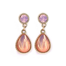 Load image into Gallery viewer, Pink & Peach Teardrop