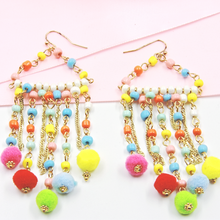 Load image into Gallery viewer, Fun Fashion Beaded Earrings