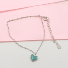 Load image into Gallery viewer, Turquoise Heart Bracelet - Gorecki Gifts