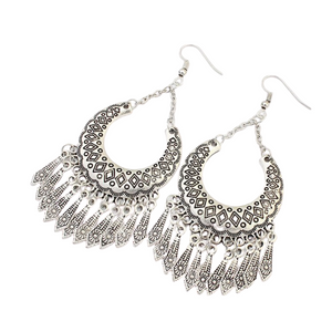 Bohemian Crescent Earrings