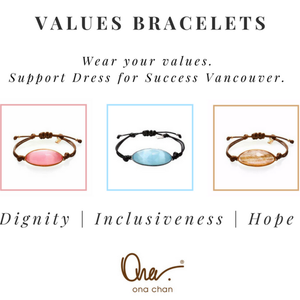 Making a Statement with a Values Bracelet: Women Helping Women