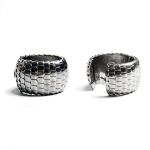 Dragon Scales Bangle with white background