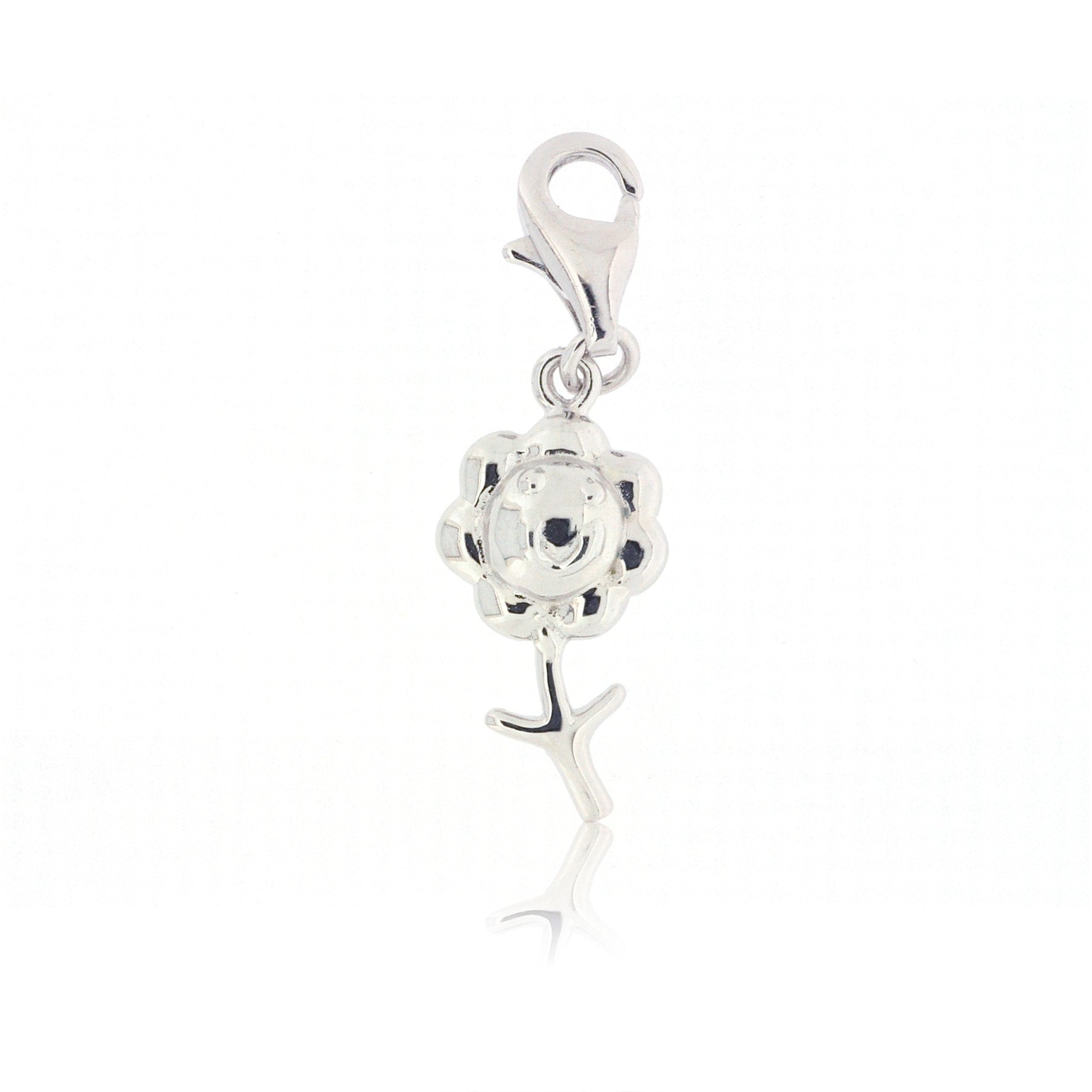 Mimi Too Character Bracelet  Charms - Sterling Silver - flower