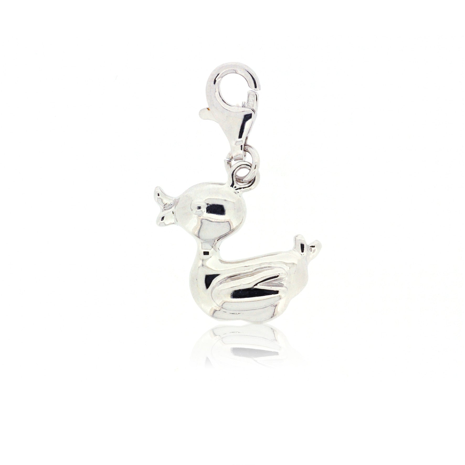 Mimi Too Character Bracelet  Charms - Sterling Silver - Duck