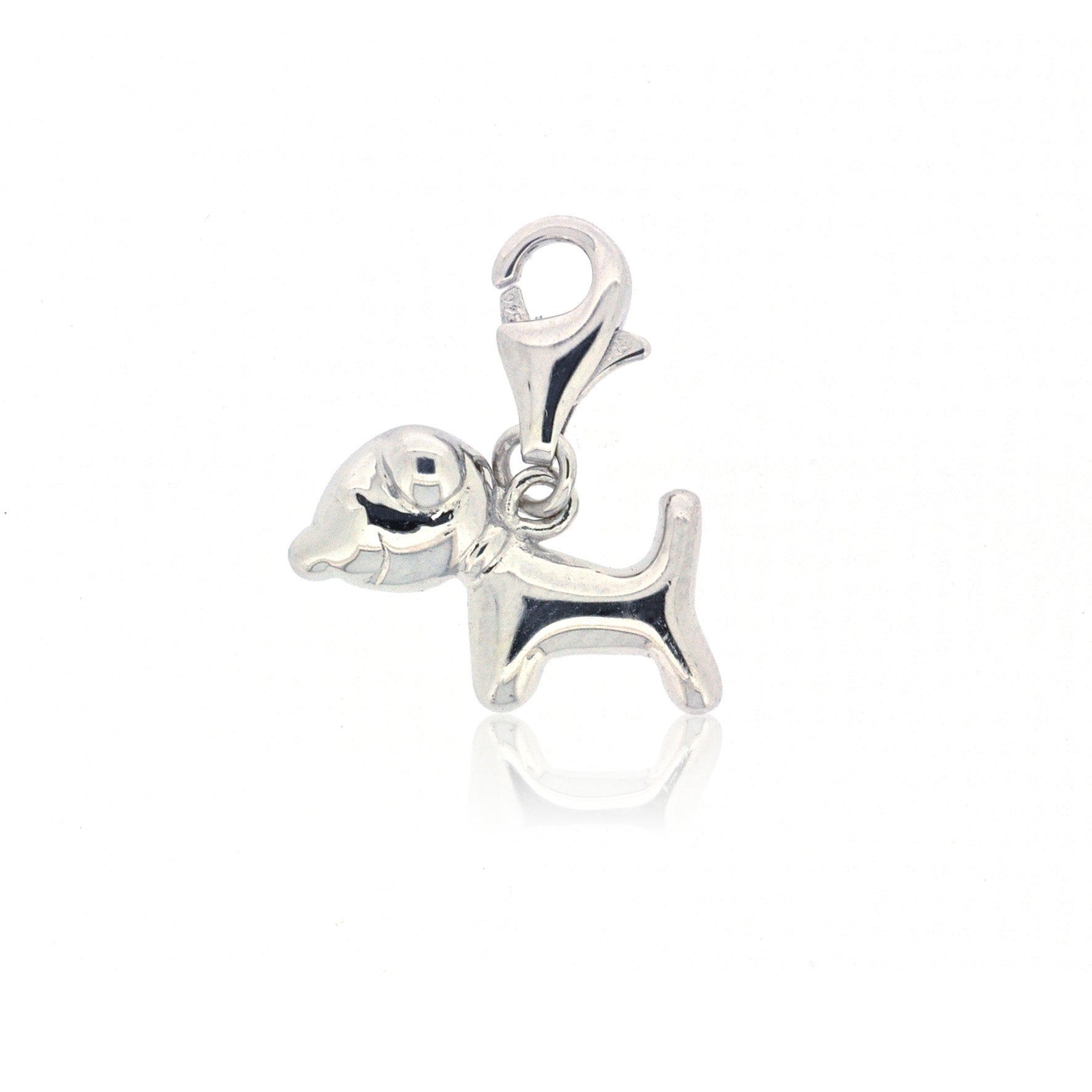 Mimi Too Character Bracelet  Charms - Sterling Silver - puppy