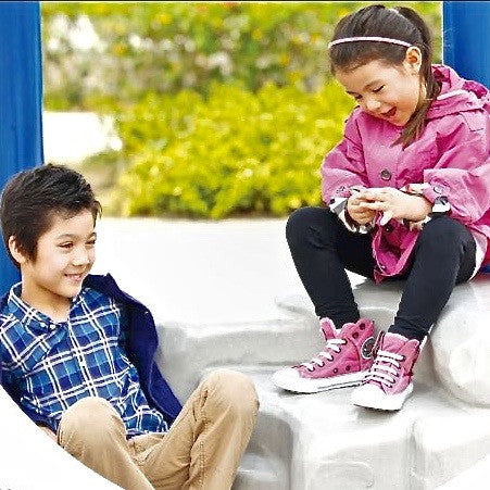 Children at the playground, little girl wearing Mimi Too Character Headband