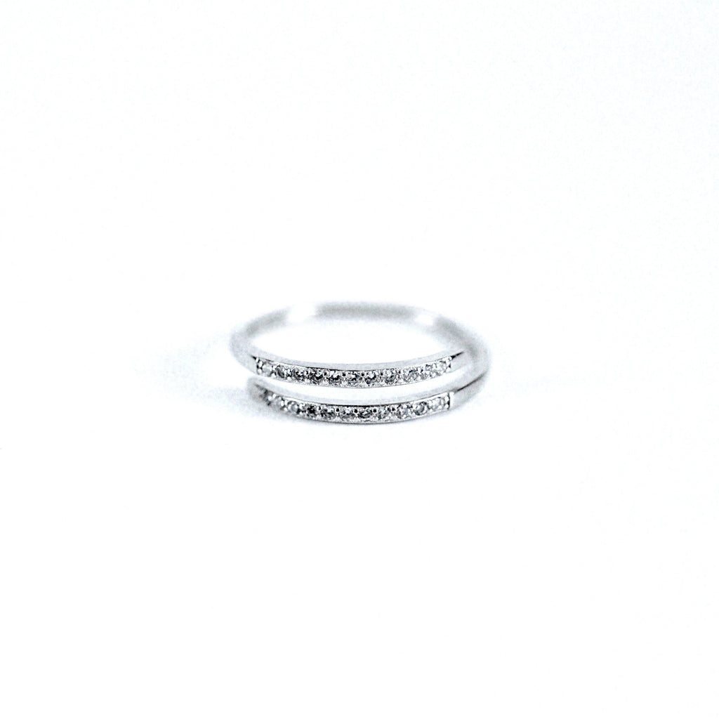 Little Jewels - Wrap Ring With Crystals