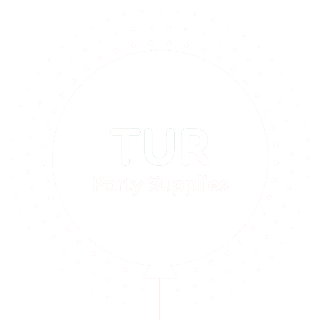 tur party supplies logo