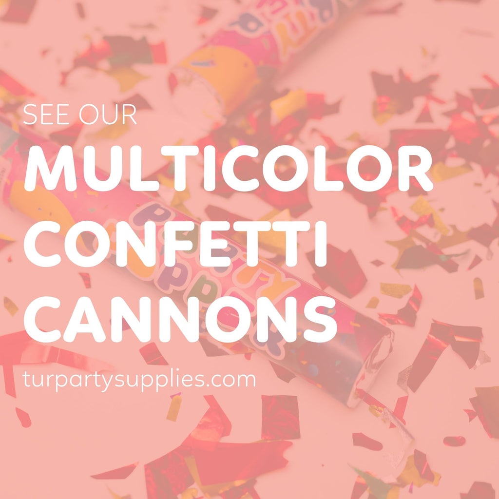 tur party supplies confetti cannon